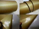 3D Карбон цвет золотой