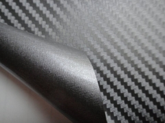 3D Карбон цвет черный