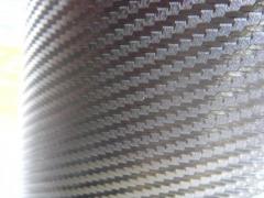 Технология Bubble Free (с каналами для выхода воздуха) 3D Карбон цвет серебрянный